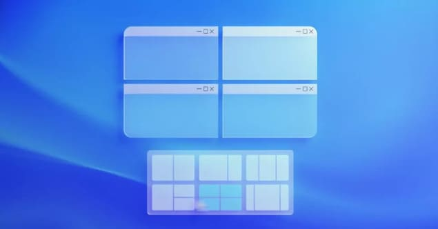 Snap Layouts в Windows 11