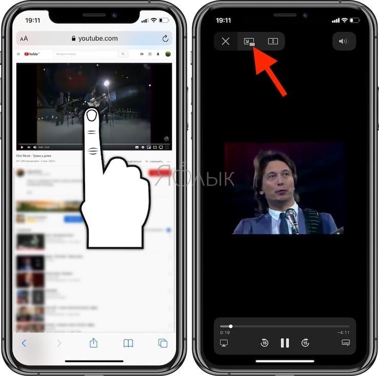 Как включить функцию «картинка в картинке» на iPhone