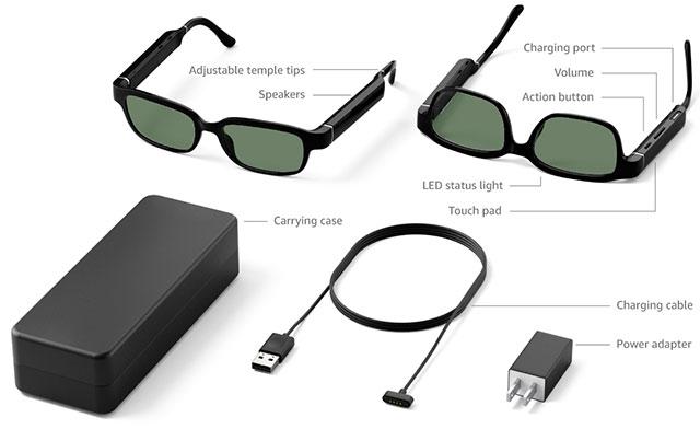 Технические характеристики Echo Frames