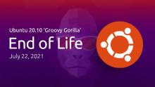 Поддержка Ubuntu 20.10 заканчивается