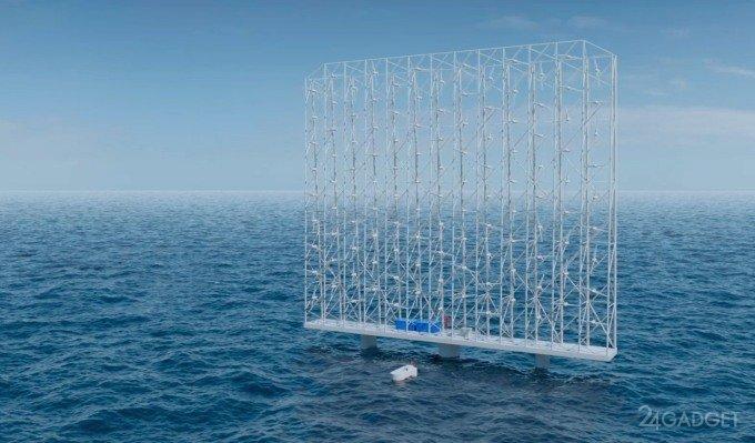 Ветрогенератор морского базирования Windcatcher обеспечит энергией 80 тысяч домохозяйств (2 фото)