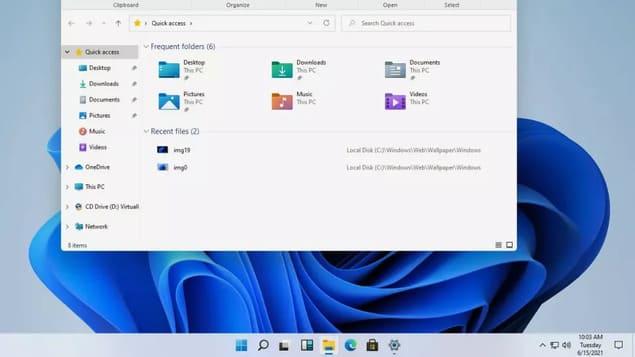Новый дизайн Windows 11