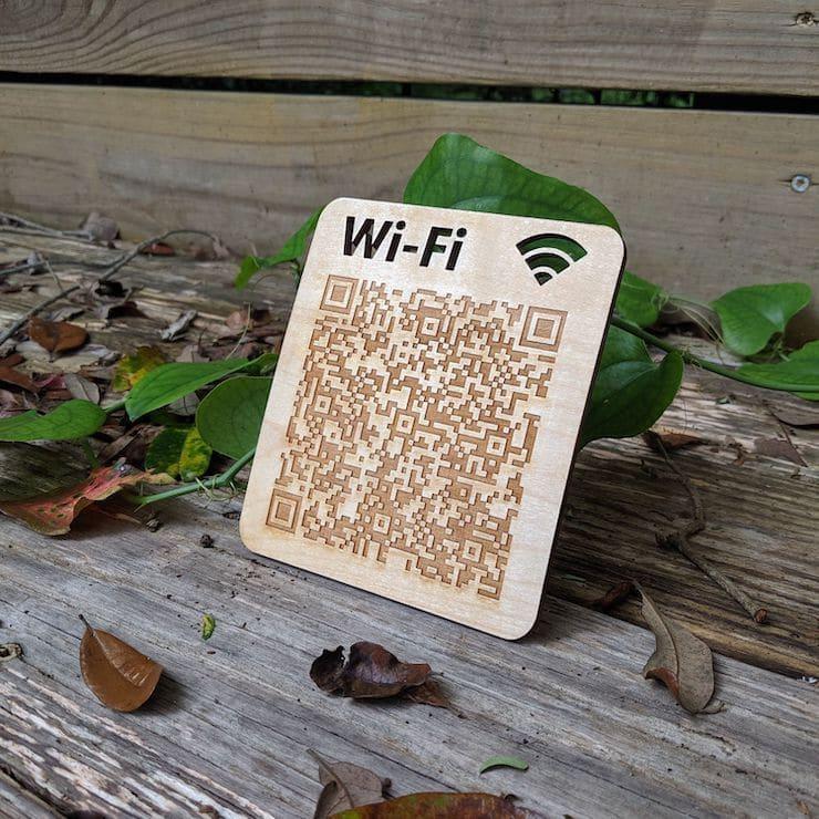 QR-код на Wi-Fi