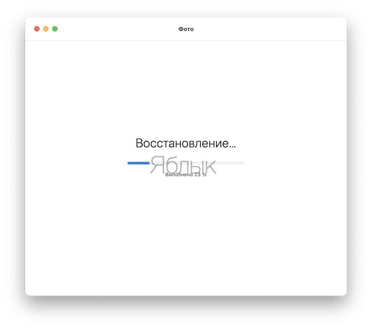 Восстановите (исправьте ошибки) библиотеку фотографий в приложении Фото на Mac