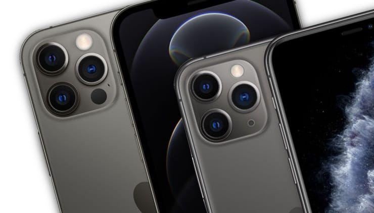 Сравнение iPhone 12 Pro и iPhone 11 Pro