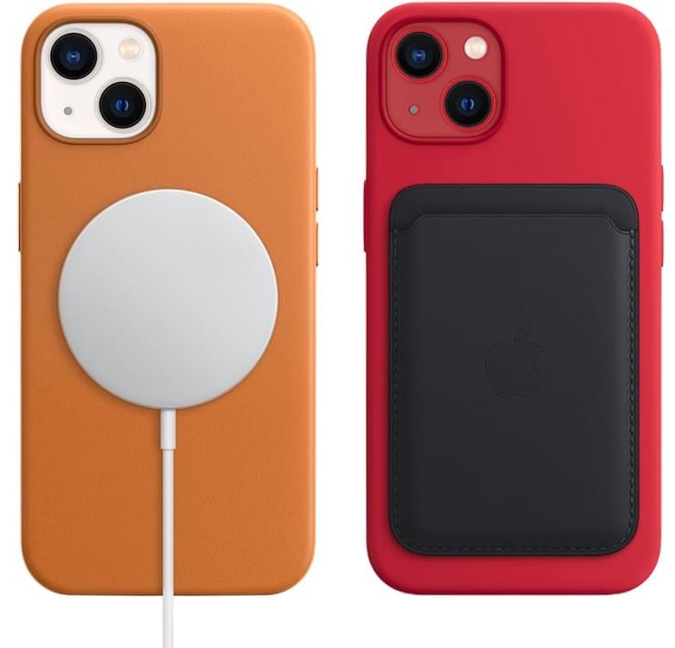 Быстрая магнитная беспроводная зарядка MagSafe для iPhone 13 и iPhone 13 mini