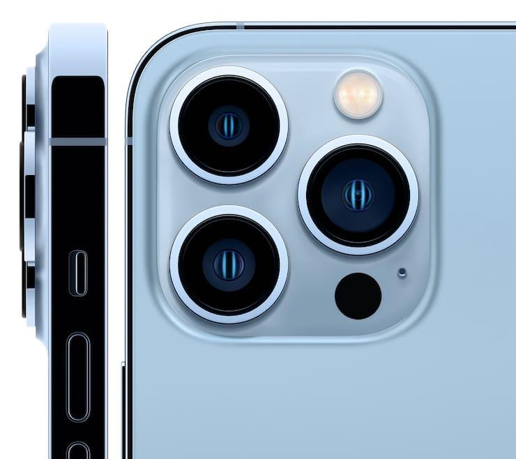 Камеры iPhone 13 Pro и iPhone 13 Pro Max