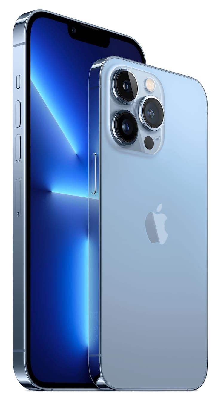 Дизайн iPhone 13 Pro и iPhone 13 Pro Max