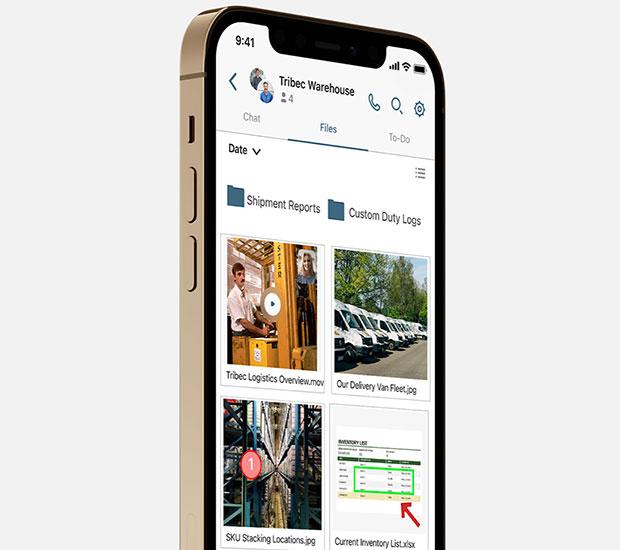 Мобильное приложение под частной торговой маркой Moxtra