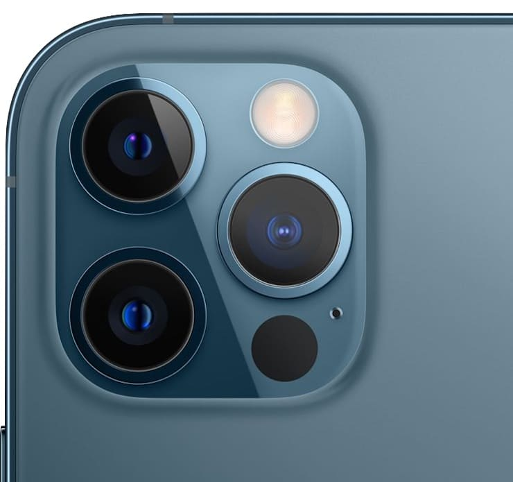 Блок основных камер iPhone 12 Pro / 12 Pro Max