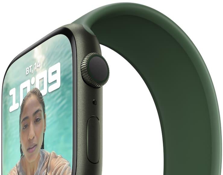 Дисплей Apple Watch Series 7