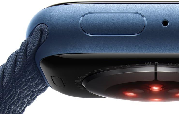 Датчики Apple Watch Series 7